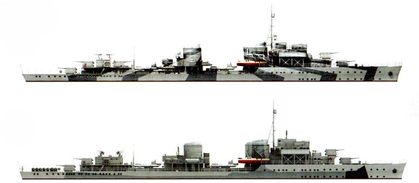 Головной корабль серии – Z1 «
